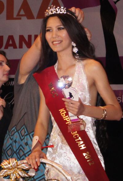 Diana Ovganova Crowned Miss Kyrgyzstan 2012