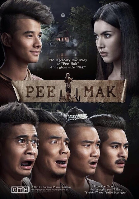 pee mak, mario maurer, movies, thailand ghost, horror movies 2013, box office movies