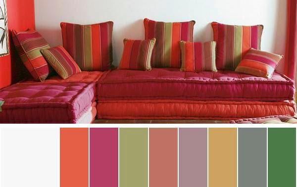 Foundation dezin decor melting vibrant colors for - Red and black paint schemes ...