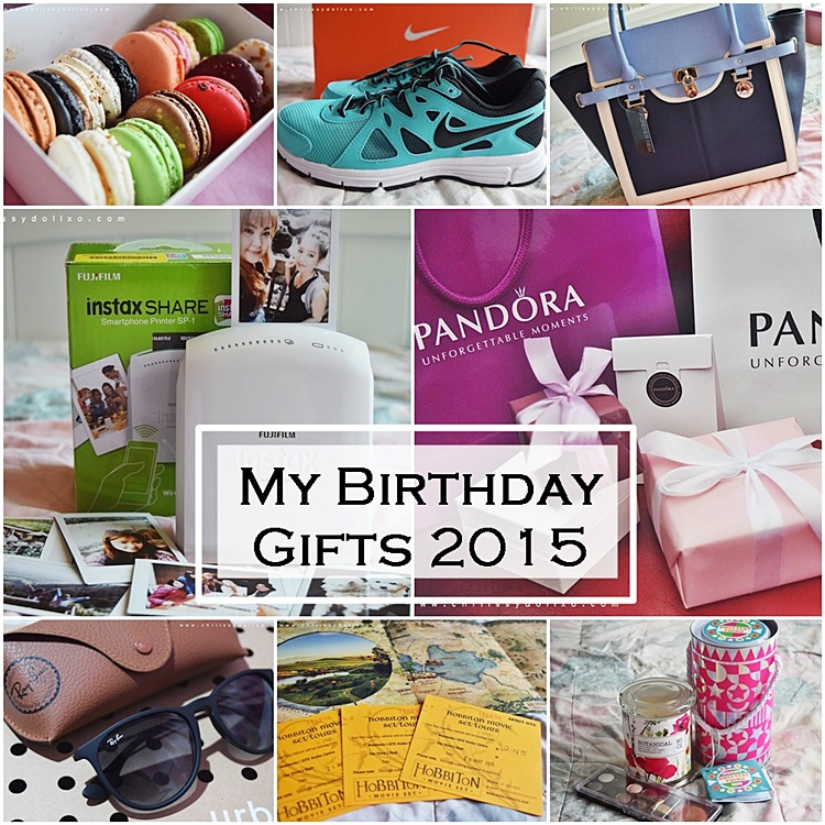 My Birthday Gifts/Haul 2015
