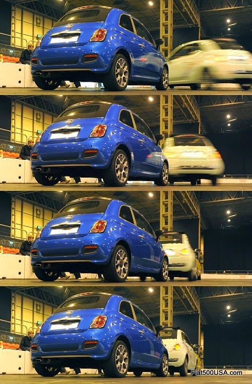 Fiat 500 World Record Parking Job