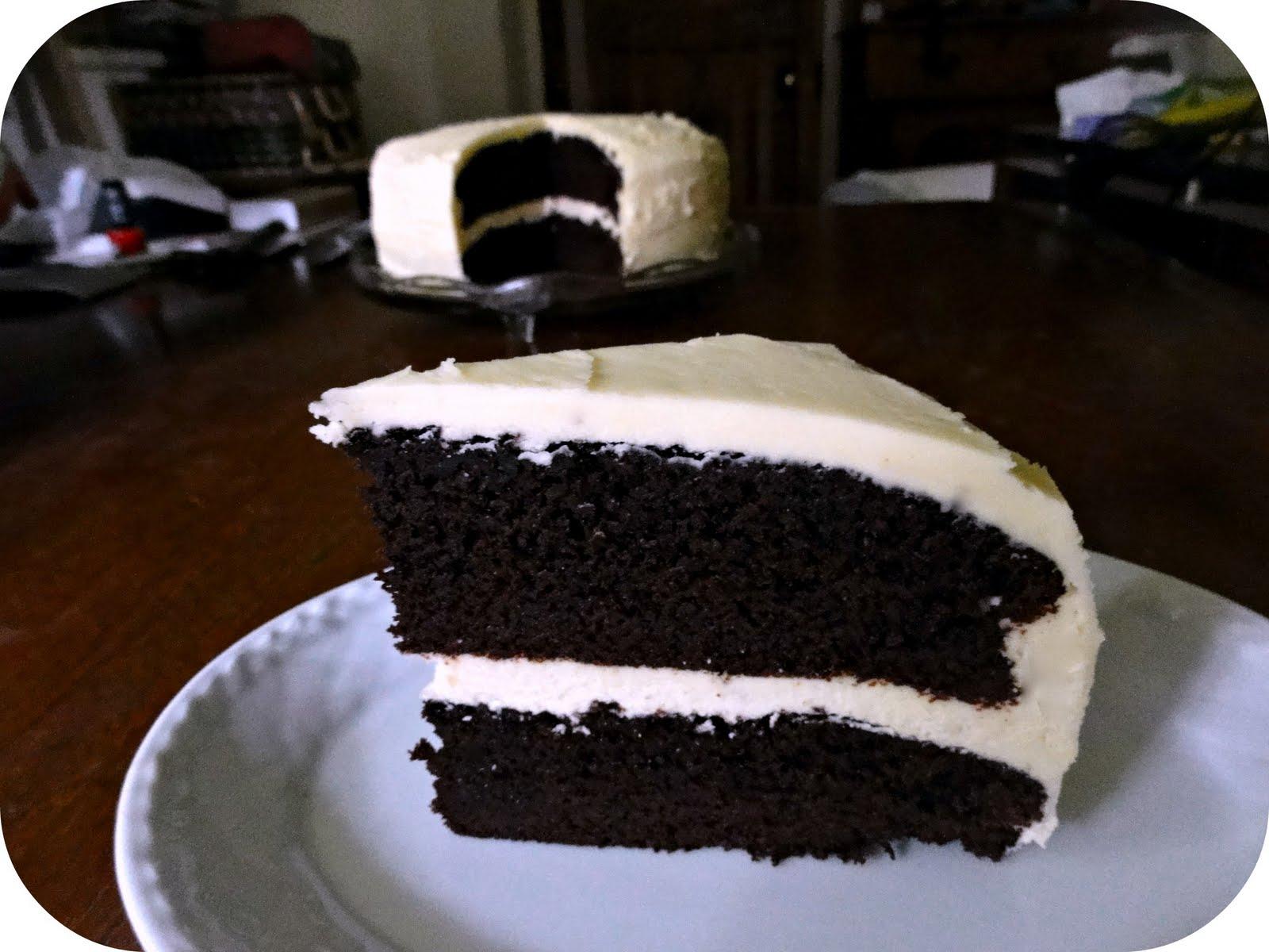 The Procrastobaker: Dark Chocolate Guinness Cake with ...