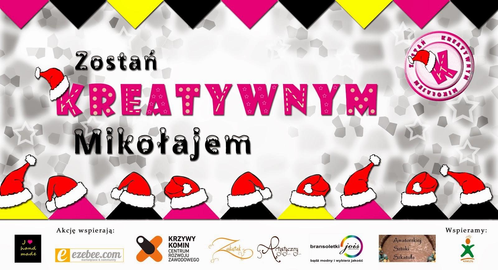 Zostań Kreatywnym Mikołajem