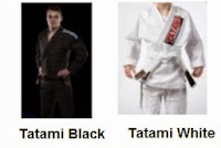 tatami white and black bjj gi