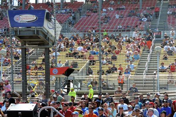 Pre-Race Ceremonies On A Perfect California Saturday
