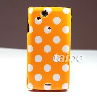 Big Point TPU Case Cover For Sony Ericsson Xperia Arc S LT15i LT18i X12 Orange