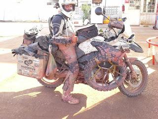 Afrika Motorrad Umrundung transafrika