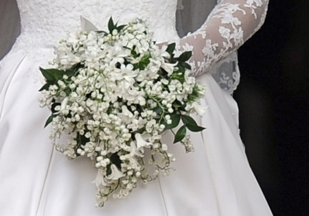royal wedding bouquets pictures. the Royal Wedding seemed