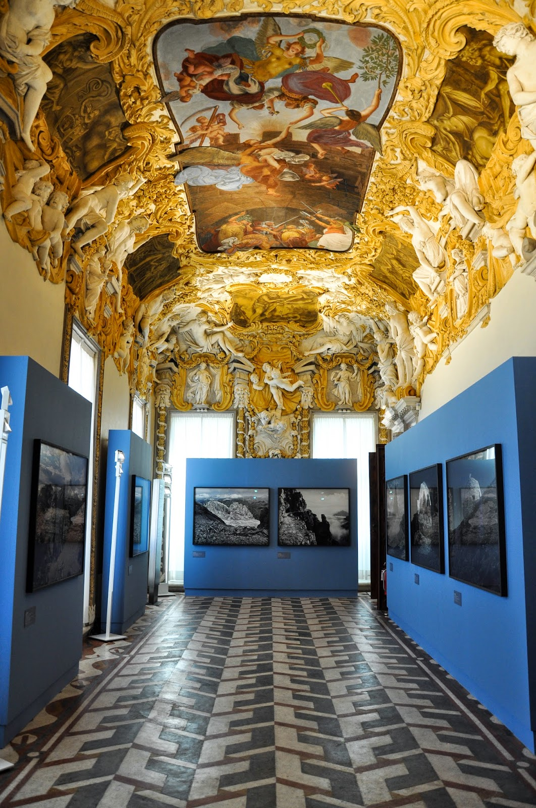 Part of the Great War exhibition, Gallerie D'Italia in Palazzo Leoni Montanari, Vicenza, Italy-2