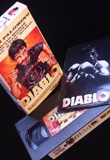 Edición en VHS de 'Diablo', de Nicanor Loreti