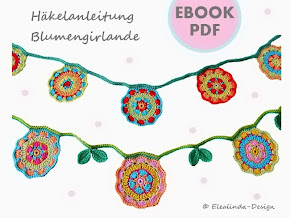 Ebook Bunte Blumengirlande