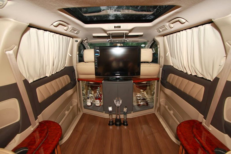 modifikasi interior mobil toyota alphard