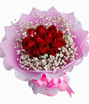 Top Rose flowers bouquet delivery in China
