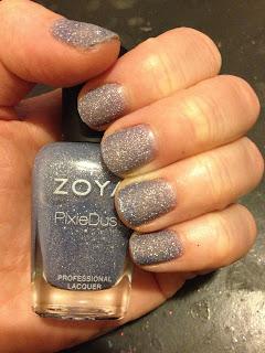 Zoya, Zoya nail polish, Zoya nail lacquer, Zoya PixieDust Collection, Zoya Nyx, Zoya PixieDust Nyx, Zoya PixieDust nail polish, glitter, matte glitter, glitter nail polish, matte glitter nail polish, nail, nails, nail polish, polish, lacquer, nail lacquer, mani, manicure, Zoya mani, Zoya manicure