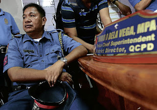 'Kotong' cop, crooked cops, Philippines, de la Pena,