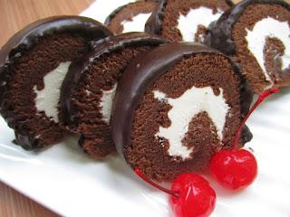 Resep Bolu Gulung Coklat