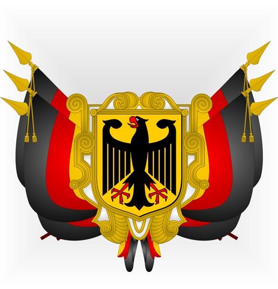 Préférence Héraldique européenne le blog: Fête nationale - Allemagne PU75