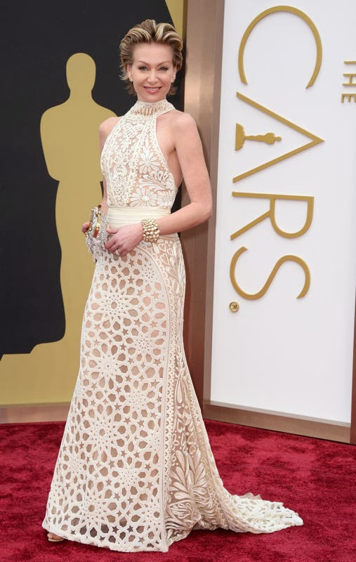 Oscars 2014 Red Carpet, Portia de Rossi