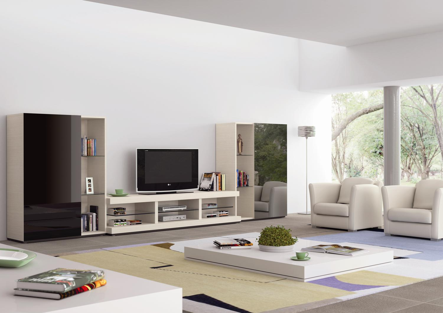 Muebles modernos ideas designs of home and garden for Muebles modernos living para tv