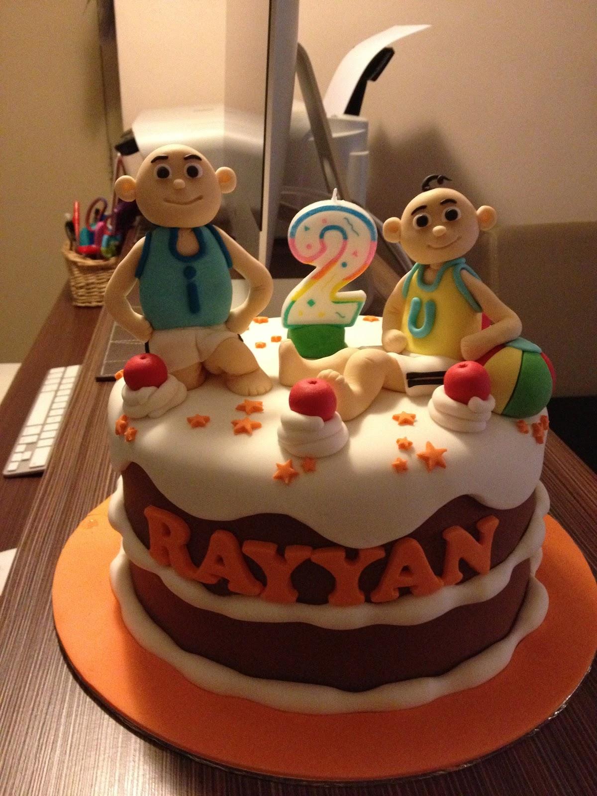 CoMeLiCiOuS: Upin & Ipin Cake