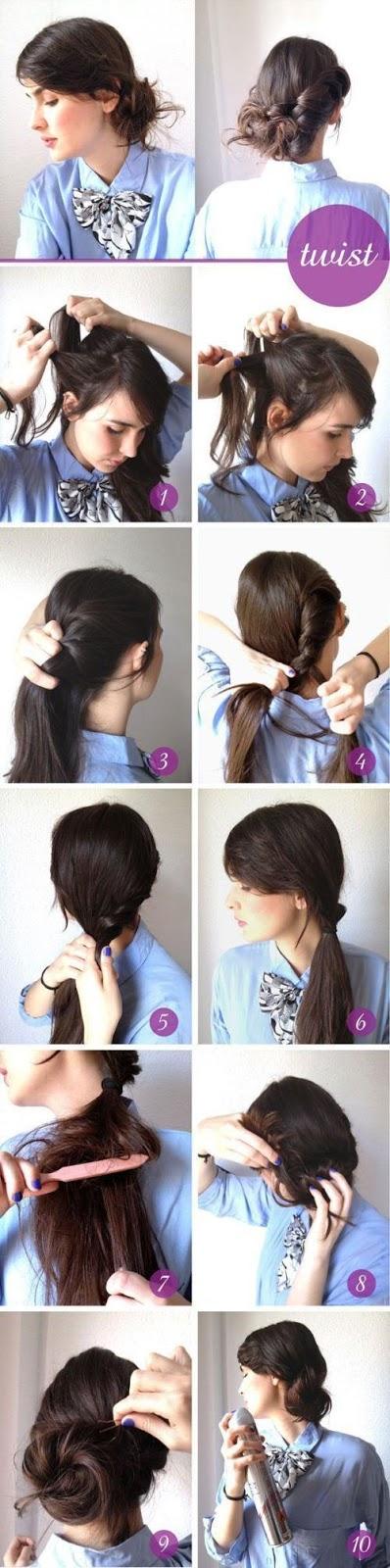 DIY Hairstyles Step by Step