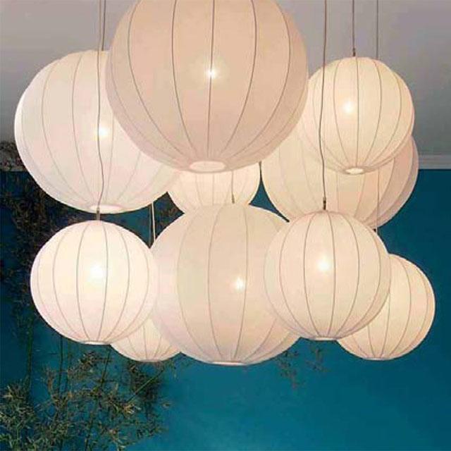Round Fabric Pendant Light Fixture Moderndesigninterior Com