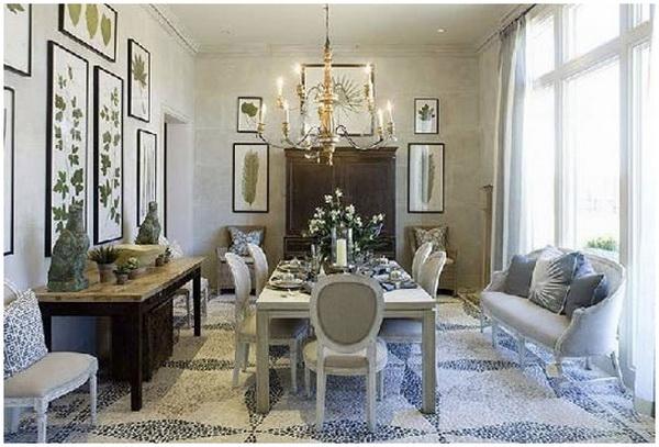 Comedores cl sicos ideas para decorar dise ar y mejorar - Disenar salon comedor ...
