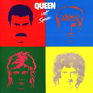 Queen - Hot Space album cover