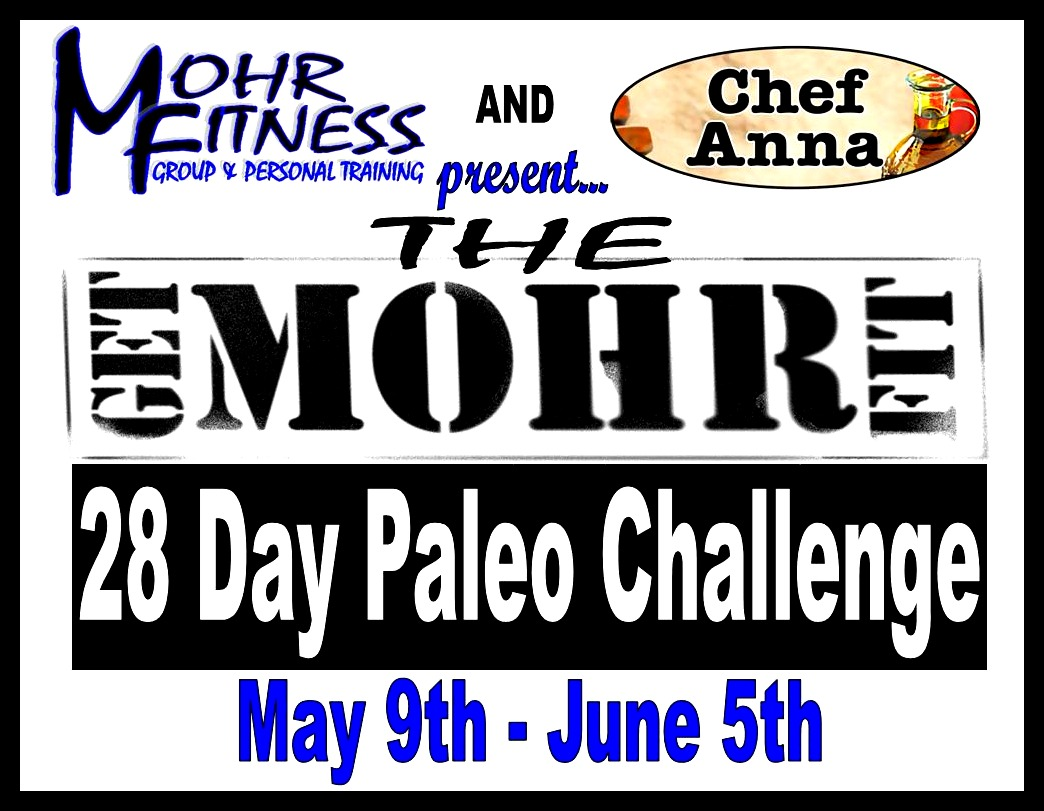 The Get Mohr Fit 28 Day Paleo Challenge