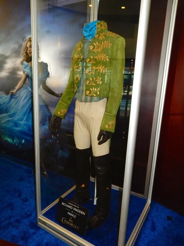 Richard Madden Cinderella Prince Charming costume