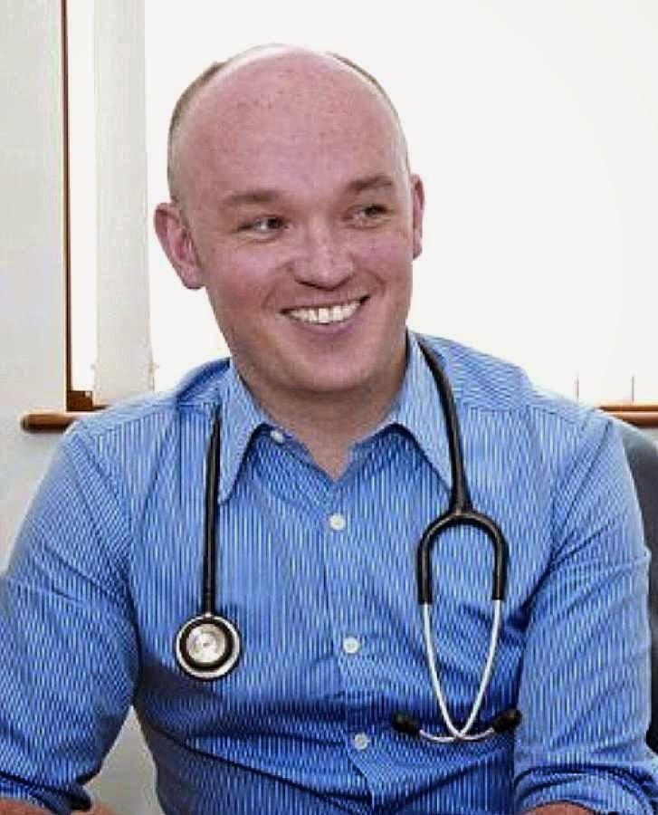 Dr Michael Moran, médico do Comité Internacional de Lourdes