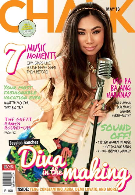 Jessica Sanchez Covers Chalk Magazine May 2013 Issue