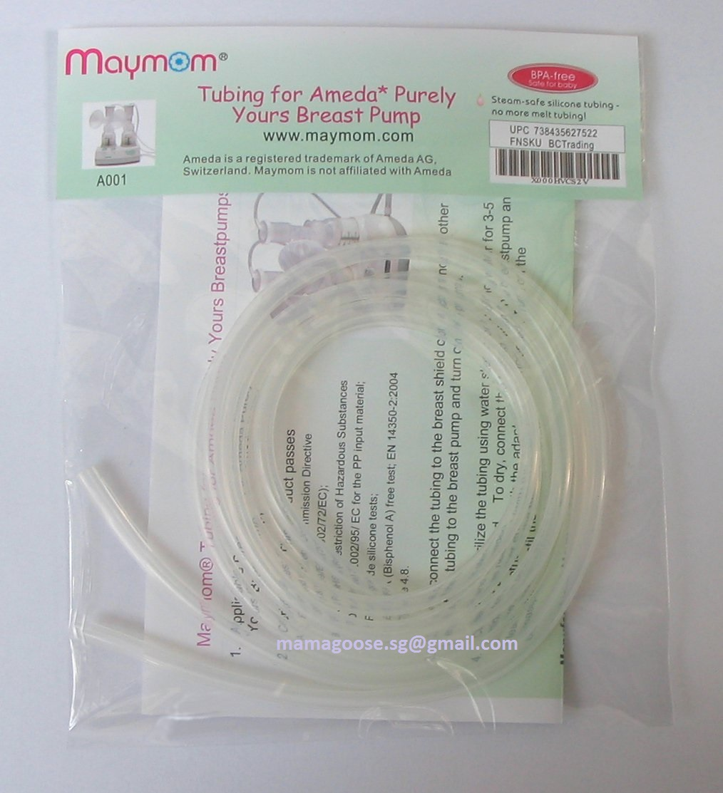 Tubes for breast pump