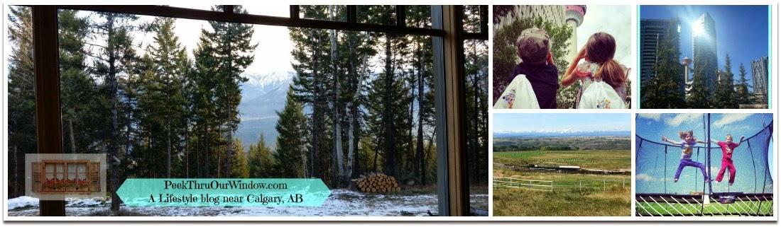 Peek thru our window....
