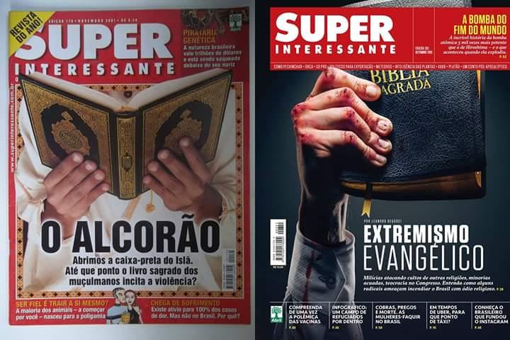 Quem é mesmo extremista Superinteressante?