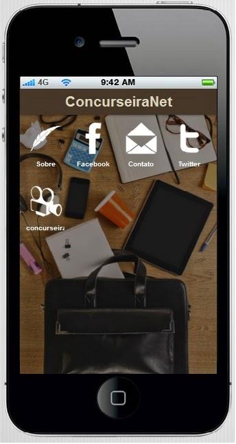 aplicativo da Concurseira.Net