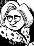 John Deering: Hillary Clinton, contender.