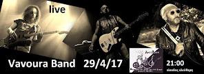 Vavoura Band live στη σκηνή της Αντίθεσης το Σάββατο 29 Απριλίου 2017