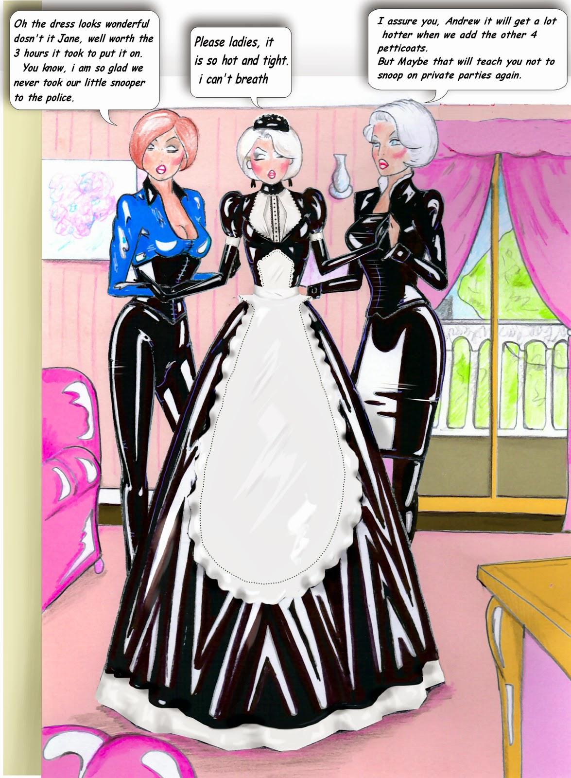 Best Fem on Pinterest | Mistress, Latex and Maids