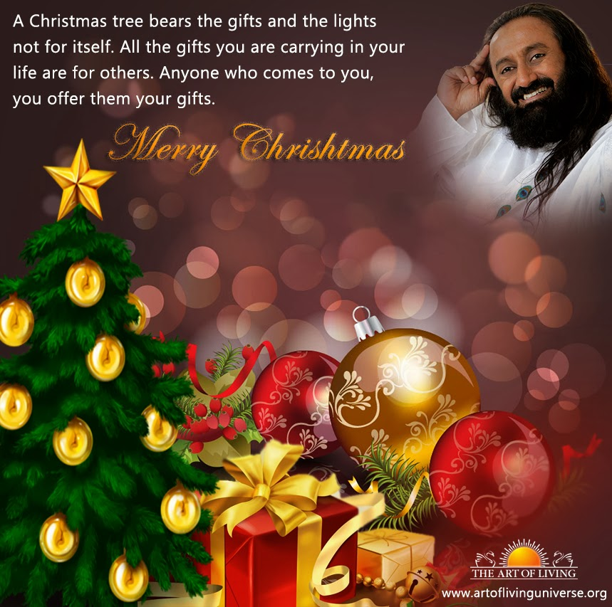 Art of Living Universe wishes you all a Merry Christmas