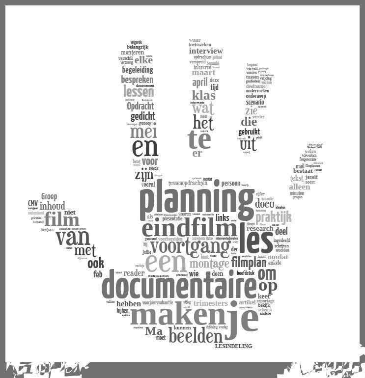 Documentaire maken planning huiswerk opdrachten for Planning maken
