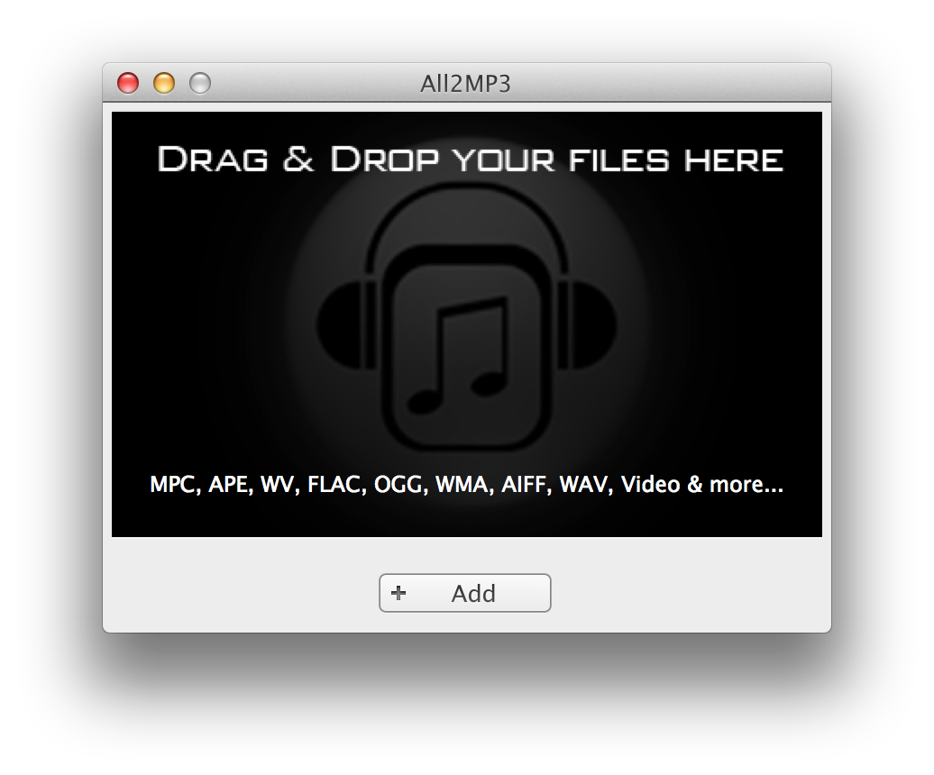 Convert FLAC files to MP3 With All2MP3