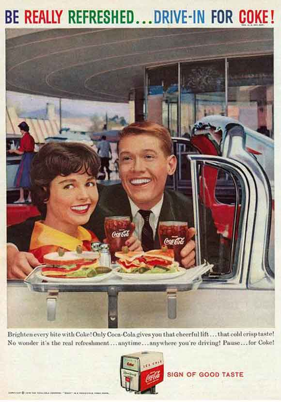 Coca Cola Vintage advertising