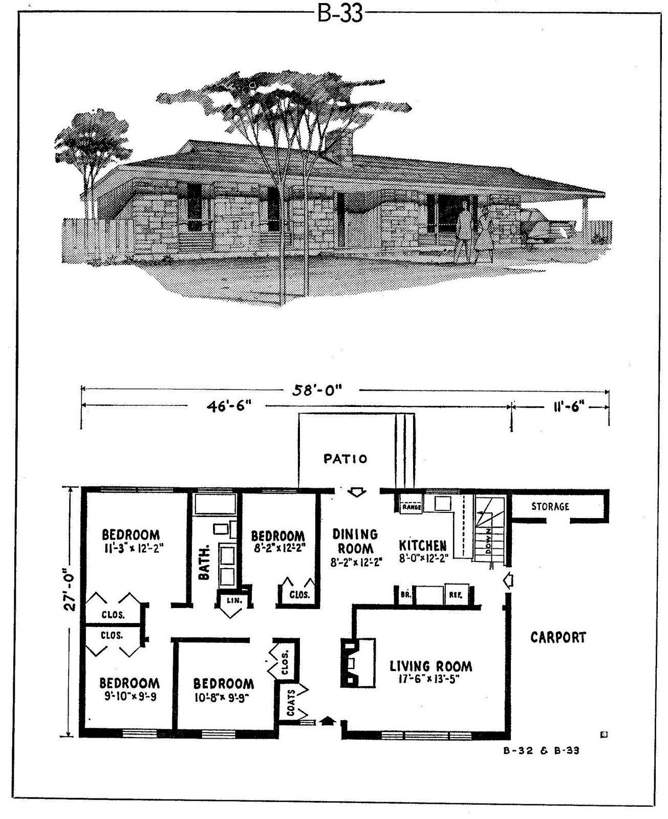 1970s Ranch House Plans Home Design And Style