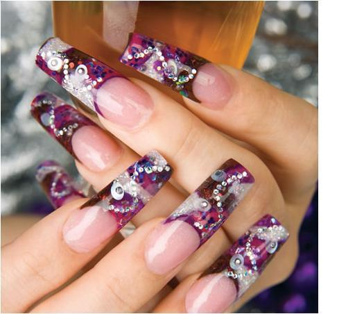 decoracion de uñas la linda yese