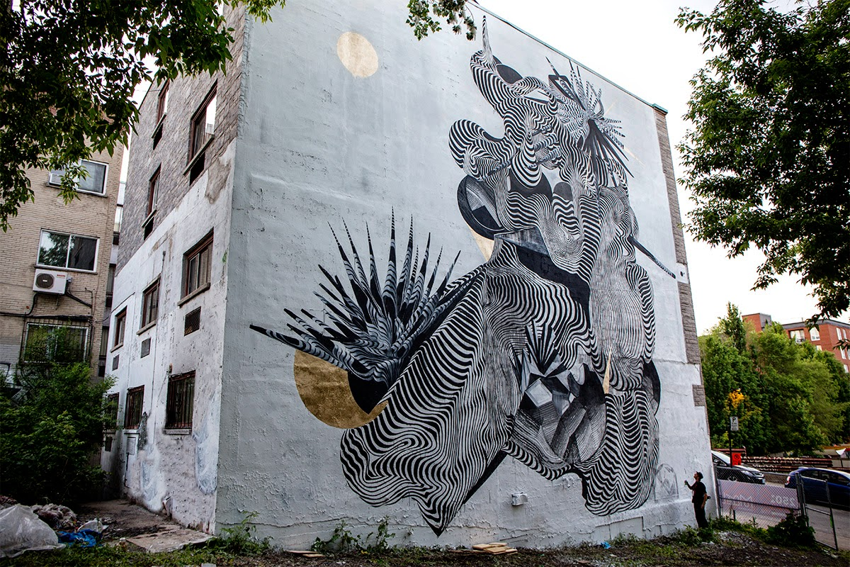 2501 new mural montreal canada streetartnews for Art mural montreal
