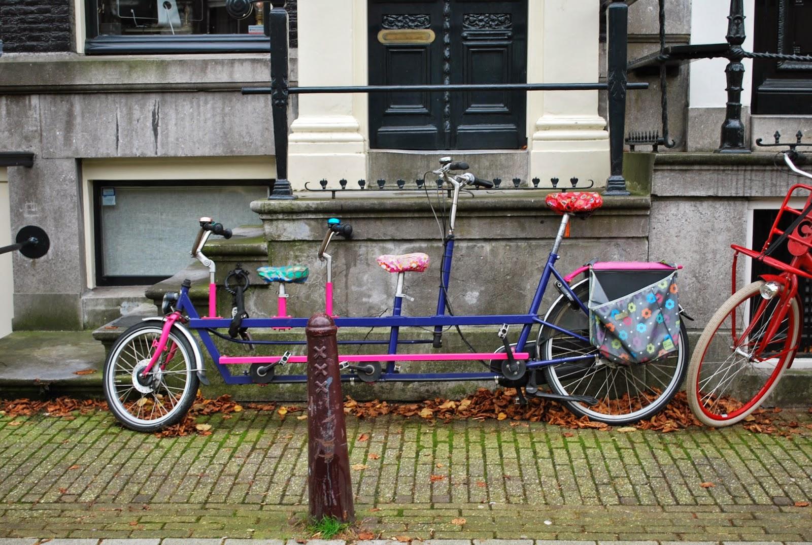 Velo tandem Amsterdam