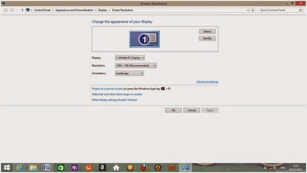 Cara Mengganti  Screen Refresh Rate di Windows 7 & 8