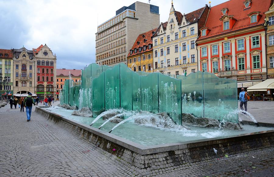 Wrocław, Fontanna