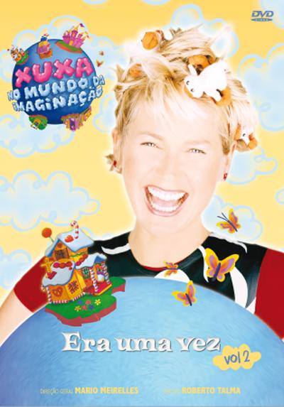 DVD Xuxa No Mundo da Imaginação Era Uma Vez Vol. 2